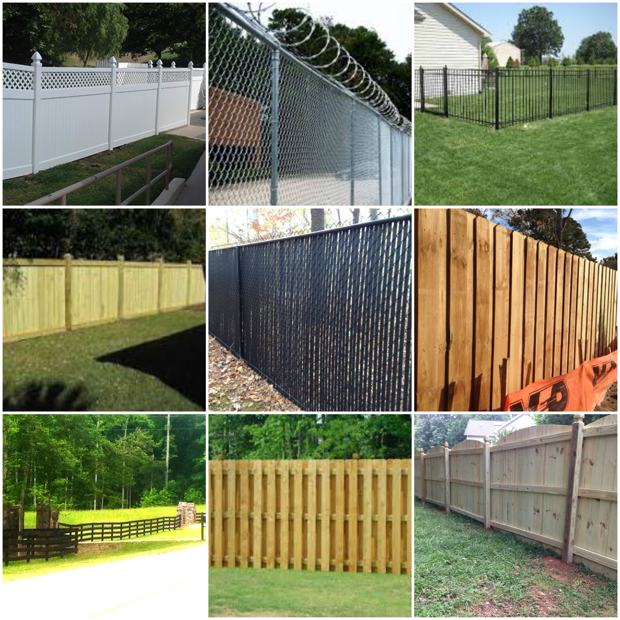 Fence Contractors - Timberlake, NC